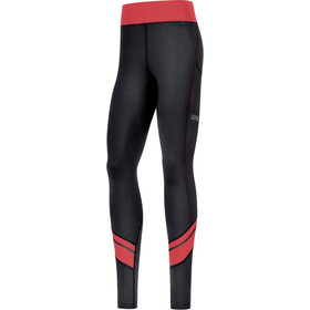 GORE WEAR R3 Mid Tights Women black/hibiscus pink